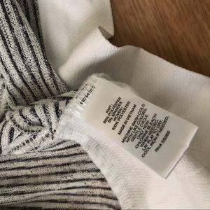 Express Tops - NWT Express Open Back Crop Top Stripped Shirt